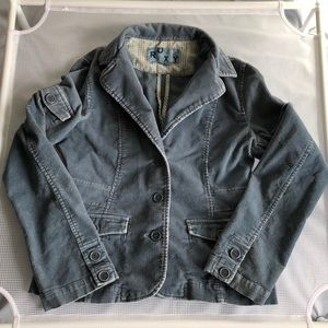 Roxy Corduroy Blue Jacket